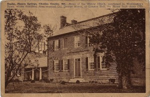 Araby was the home of the Thompson and Wills families for a century.